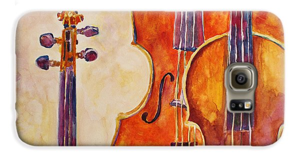 Four Violins Galaxy S6 Case by Jenny Armitage