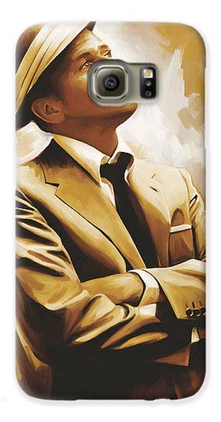 Frank Sinatra Artwork 1 Galaxy S6 Case by Sheraz A