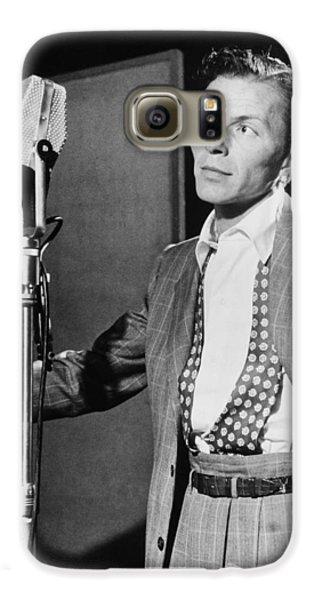 Frank Sinatra Galaxy S6 Case by Mountain Dreams