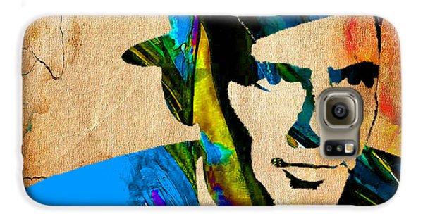 Frank Sinatra My Way Galaxy S6 Case by Marvin Blaine