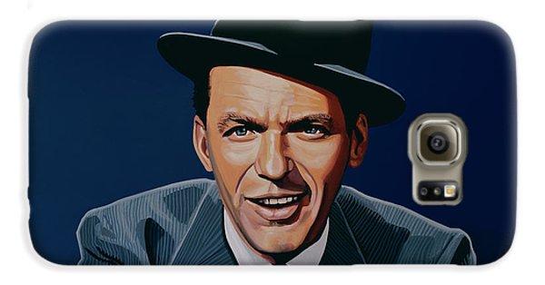 Frank Sinatra Galaxy S6 Case by Paul Meijering