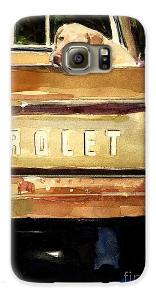 Free Ride Galaxy S6 Case by Molly Poole