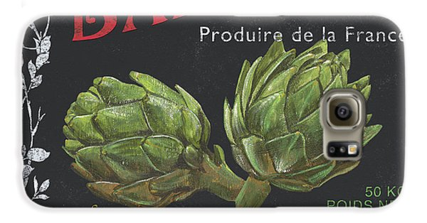 French Veggie Labels 1 Galaxy S6 Case by Debbie DeWitt