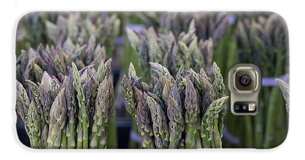 Fresh Asparagus Galaxy S6 Case by Mike  Dawson