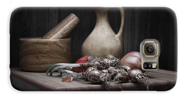 Fresh Onions With Pitcher Galaxy S6 Case by Tom Mc Nemar