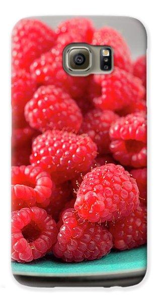 Fresh Raspberries Galaxy S6 Case by Aberration Films Ltd