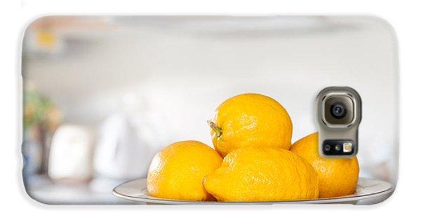 Freshly Picked Lemons Galaxy S6 Case by Amanda Elwell