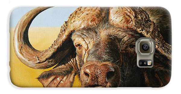 African Buffalo Galaxy S6 Case by Mario Pichler