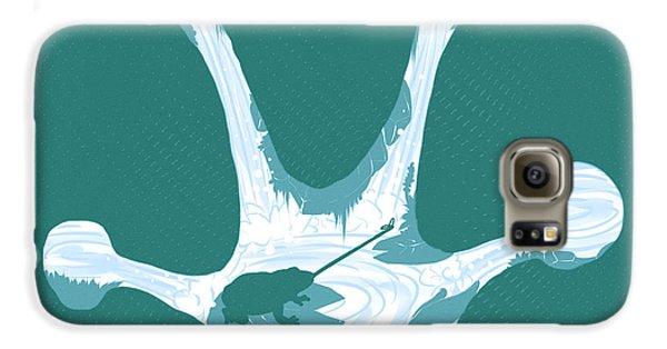 Frog Foot Galaxy S6 Case by Daniel Hapi