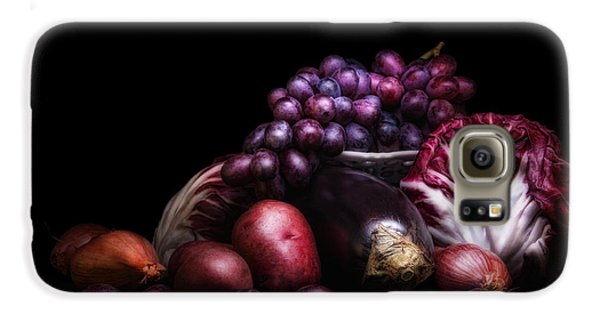 Fruit And Vegetables Still Life Galaxy S6 Case by Tom Mc Nemar