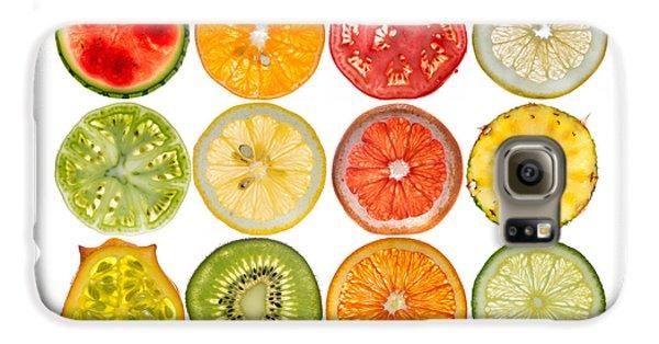 Fruit Market Galaxy S6 Case by Steve Gadomski