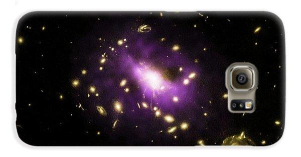 Galaxy Cluster Rx J1532 Galaxy S6 Case by Nasa/cxc/stanford/j.hlavacek-larrondo Et Al/esa/stsci/m.postman And Clash Team