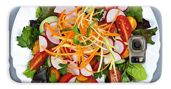 Garden Salad Galaxy S6 Case by Elena Elisseeva
