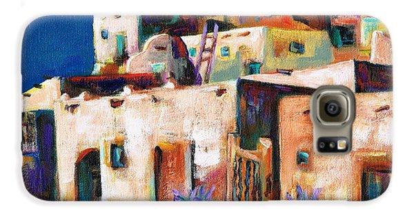 Gateway Into  The  Pueblo Galaxy S6 Case by Frances Marino