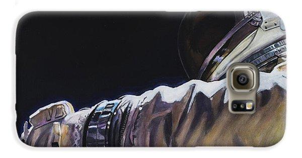 Gemini Xi - Into The Void Galaxy S6 Case by Simon Kregar
