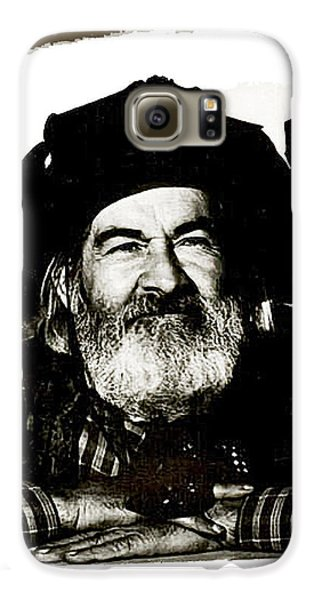 George Hayes Portrait #1 Card Galaxy S6 Case by David Lee Guss