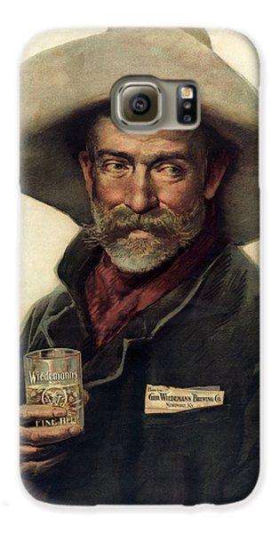 George Wiedemann's Brewing Company C. 1900 Galaxy S6 Case by Daniel Hagerman