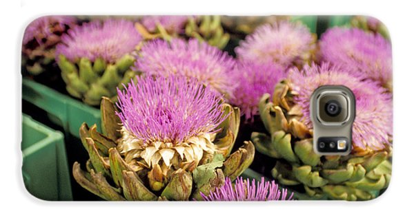 Germany Aachen Munsterplatz Artichoke Flowers Galaxy S6 Case by Anonymous