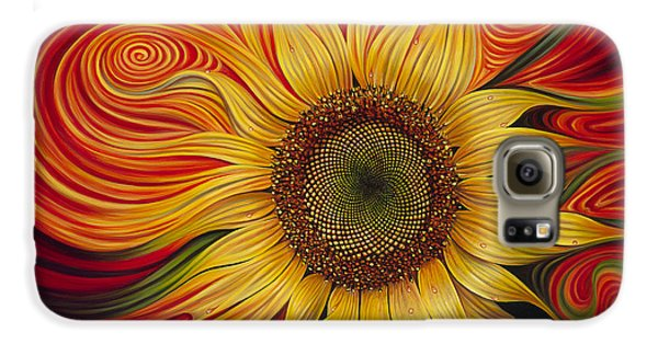 Girasol Dinamico Galaxy S6 Case by Ricardo Chavez-Mendez