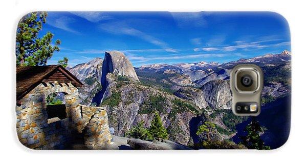 Glacier Point Yosemite National Park Galaxy S6 Case by Scott McGuire