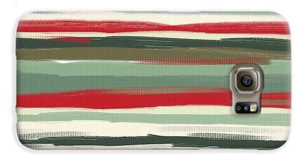 Gloomy Beach Day Galaxy S6 Case by Lourry Legarde