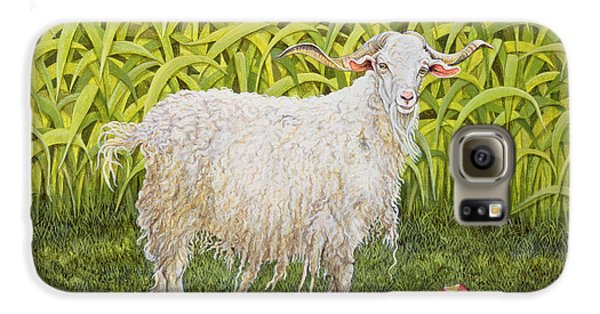 Goat Galaxy S6 Case by Ditz