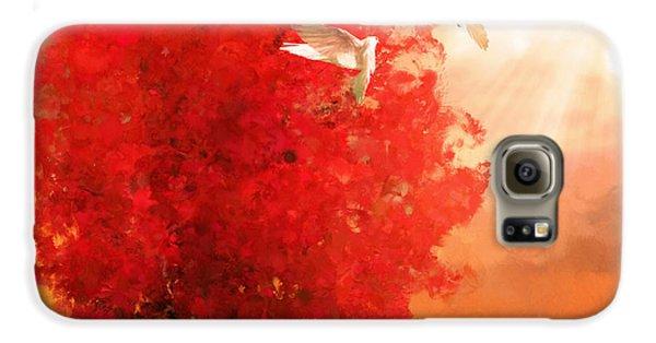 God's Love Galaxy S6 Case by Lourry Legarde