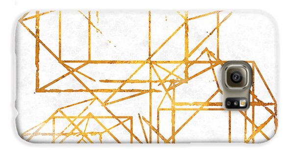 Gold Cubed I Galaxy S6 Case by South Social Studio