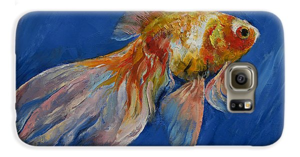 Goldfish Galaxy S6 Case by Michael Creese