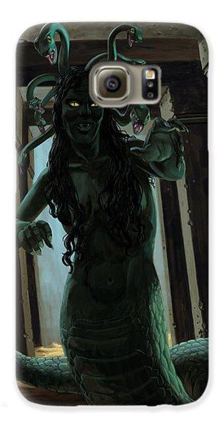 Gorgon Medusa Galaxy S6 Case by Martin Davey