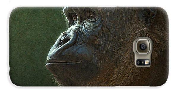 Gorilla Galaxy S6 Case by Aaron Blaise