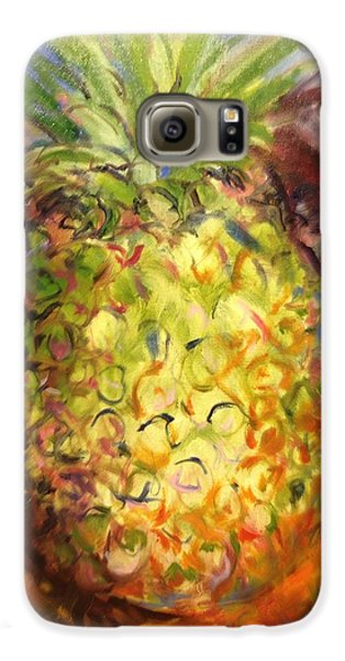 Green Heat  Galaxy Case by Karen Carmean
