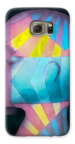 Grid Head Galaxy S6 Case by Jeff  Gettis
