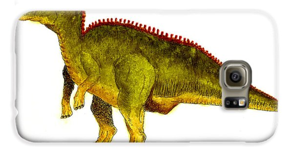 Hadrosaurus Galaxy S6 Case by Michael Vigliotti