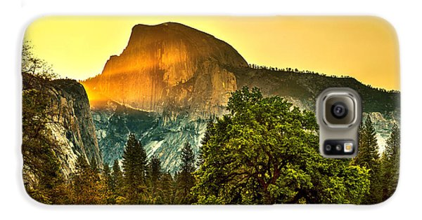 Half Dome Sunrise Galaxy S6 Case by Az Jackson