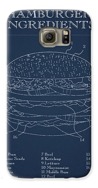 Hamburger Galaxy S6 Case by Aged Pixel