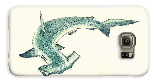 Hammerhead Shark Galaxy S6 Case by Michael Vigliotti