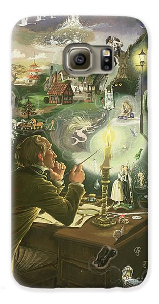 Hans Christian Andersen Galaxy S6 Case by Anne Grahame Johnstone
