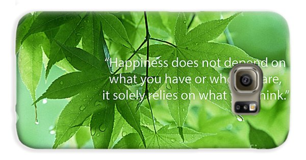 Happiness A Simple Reminder Galaxy S6 Case by Marvin Blaine