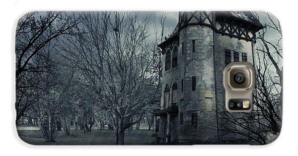Haunted House Galaxy S6 Case by Jelena Jovanovic
