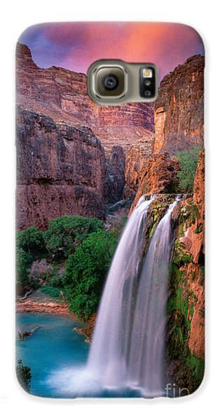 Havasu Falls Galaxy S6 Case by Inge Johnsson