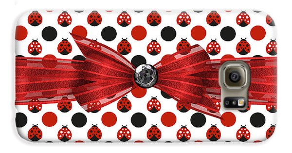 Healing Ladybugs Galaxy S6 Case by Debra  Miller