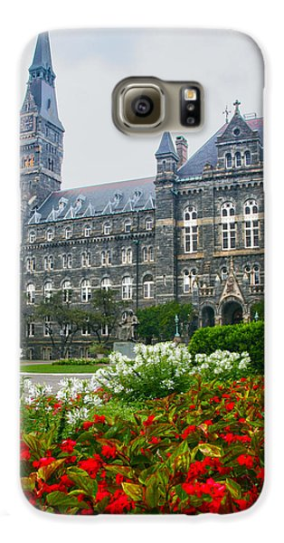 Healy Hall Galaxy S6 Case by Mitch Cat