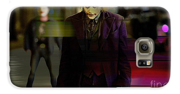 Heath Ledger Galaxy S6 Case by Marvin Blaine