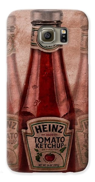Heinz Tomato Ketchup Galaxy S6 Case by Dan Sproul