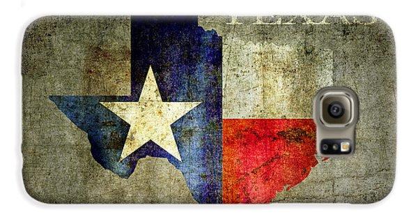 Hello Texas Galaxy S6 Case by Daniel Hagerman