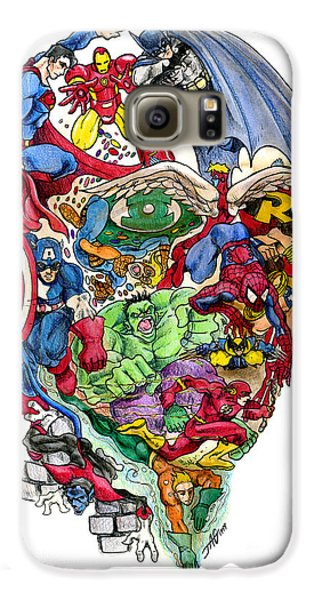Heroic Mind Galaxy S6 Case by John Ashton Golden