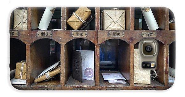 Hogsmeade Owl Post Office Galaxy S6 Case by Edward Fielding
