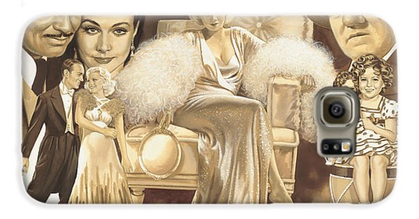Hollywoods Golden Era Galaxy S6 Case by Dick Bobnick