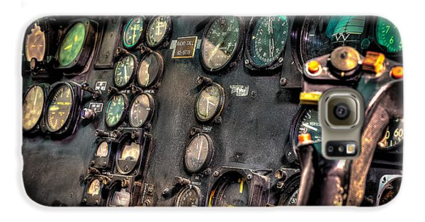 Huey Instrument Panel Galaxy S6 Case by David Morefield